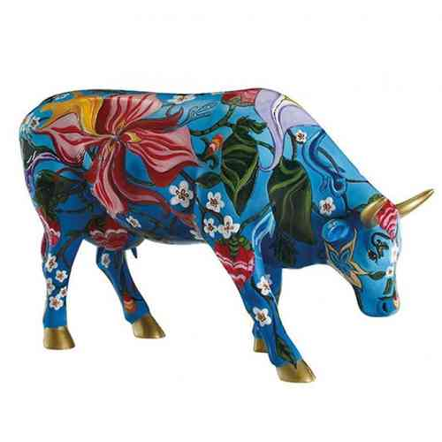 Cow Parade kunstkoe 'Birtha' AR-CP46735 (L)