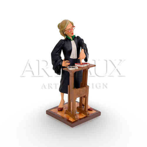 "Guillermo Forchino ""Lady Lawyer"" - Large AR-GF85514"