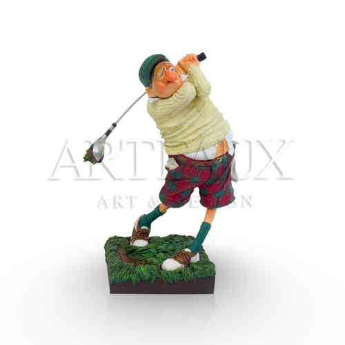 Guillermo Forchino 'Fore! The Golfer' - Small AR-GF84002