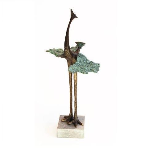 Bronze sculpture 'Graceful Bird' AR-MA00423
