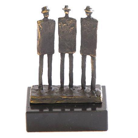 Bronze sculpture 'The Three Gentleman' AR-BRMA00485