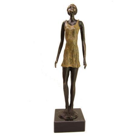 Bronze sculpture 'The Curious Girl' AR-BRMA00471