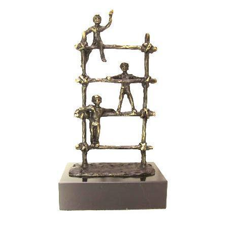 Bronze sculpture 'Playground' AR-BRMA00577
