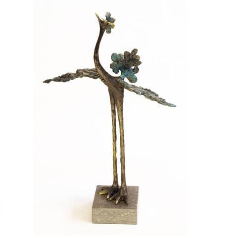 Bronze sculpture 'Graceful Bird' AR-BRMA00424