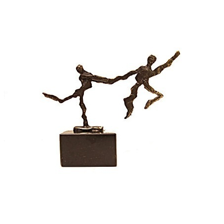 Bronze sculpture 'Elegent Leap' AR-BRMA00612