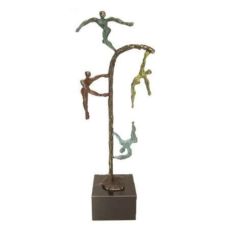 Bronze sculpture 'Happy Energy' AR-BRMA00607