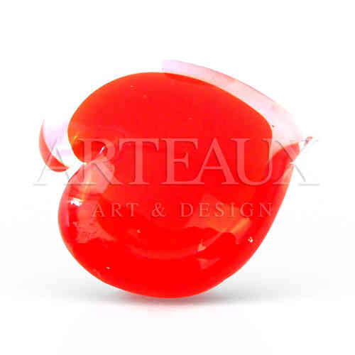 Glass Red Heart St Valentine AR-DTGL388