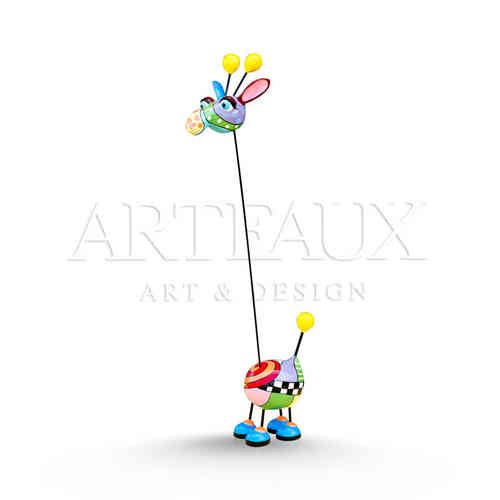 Crazy Giraffe 'Cartoon Design' - Small AR-TR1292-B