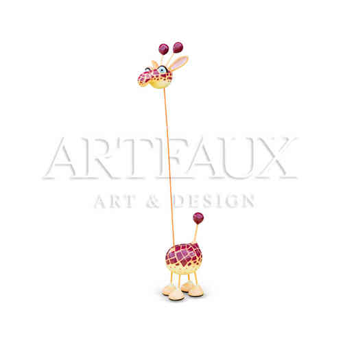 Crazy Giraffe 'Vlakken Design' - Medium AR-TR1291-A