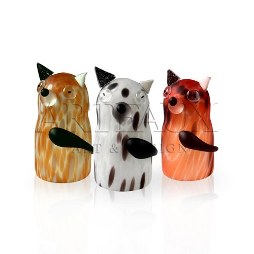 Modern Glass Design Artificial Dog - AR-LO.L.015