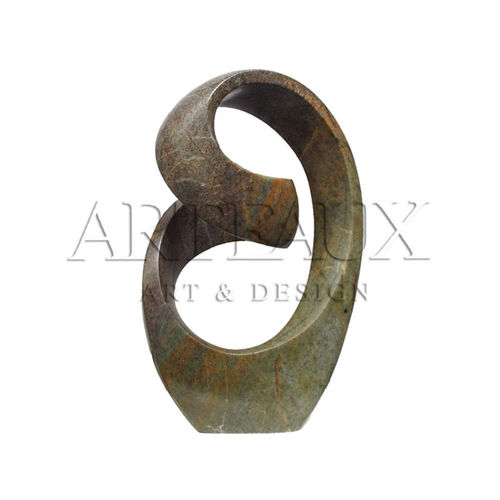 Garden Sculpture Natural Stone Abstract Embrace