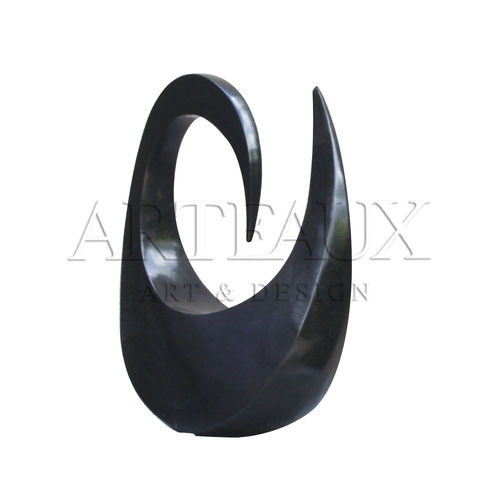 Sculpture Natural Stone Abstract Freedom - AR-TN035